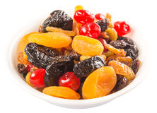 A Bowl Of Mix Dried Fruit VII Stock Photo