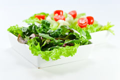 Bowl of mixed salad Stock Photos