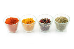 Bowl with mixed spices Royalty Free Stock Image