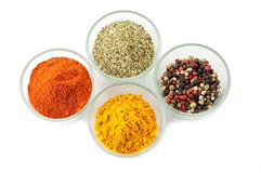 Bowl with mixed spices Royalty Free Stock Photo