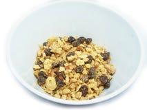 A bowl of muesli Stock Photo