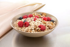 Bowl of muesli and berries Stock Image
