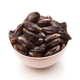 Bowl of mussels Royalty Free Stock Images