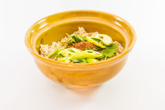 A bowl of noodle Royalty Free Stock Photos