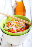 Bowl of noodles Royalty Free Stock Photography