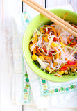 Bowl of noodles Royalty Free Stock Photo