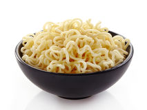Bowl of noodles Stock Photos