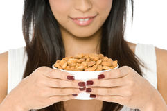 Bowl of Nuts Royalty Free Stock Photo