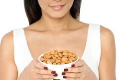 Bowl of Nuts Stock Photography