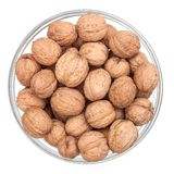 Bowl with nuts Stock Photography