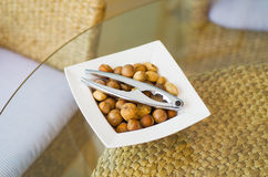 Bowl of Nuts Stock Images