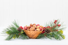 Bowl of Nuts Royalty Free Stock Photography