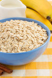 Bowl of oat flake Stock Photography