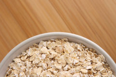 Bowl of Oatmeal Stock Images