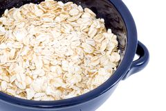Bowl of Oatmeal Stock Photos