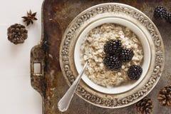 Oatmeal Breakfast Royalty Free Stock Photo