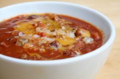 Free Bowl Of Chili Royalty Free Stock Photography - 13727177