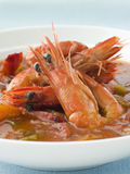Bowl Of Creole Shrimp Gumbo Stock Images