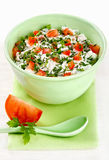 Bowl Of Curd Royalty Free Stock Images