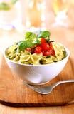 Bowl Of Farfalle Pasta Royalty Free Stock Photos