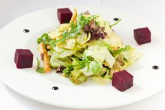 Bowl Of Greek Salad Royalty Free Stock Image