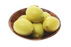 Free Bowl Of Lemons Stock Image - 6371141