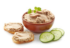 Bowl Of Liver Pate Stock Images