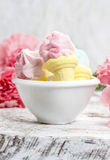 Bowl Of Marshmallows Royalty Free Stock Image