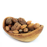 Bowl Of Mixed Nuts Royalty Free Stock Images
