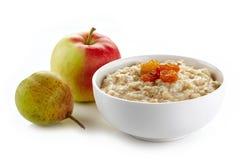 Free Bowl Of Oats Porridge Stock Photos - 33514513