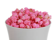 Free Bowl Of Pink Popcorn Stock Images - 17897514