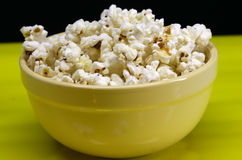 Bowl Of Popcorn Royalty Free Stock Photography