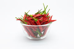 Free Bowl Of Red Hot Chilli Peppers Stock Photo - 57494970