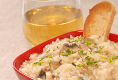Bowl Of Risotto Stock Photos