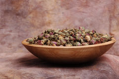 Bowl Of Rose Buds Royalty Free Stock Image