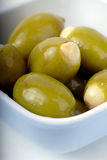 Bowl Of Olives Stock Photography