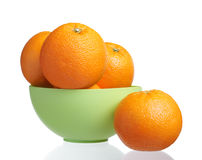 Bowl Orange royalty free stock photography