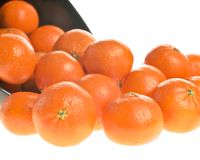 Bowl of oranges Royalty Free Stock Photos
