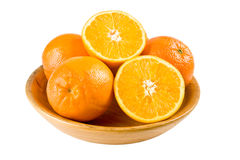 A bowl of oranges Royalty Free Stock Image