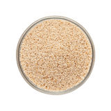Bowl of Organic White Poppy seed. Stock Photography