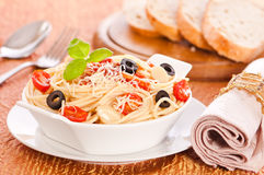 Bowl Of Pasta Royalty Free Stock Photos