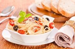 Bowl Of Pasta Royalty Free Stock Photos