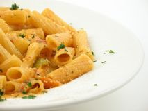 Bowl of pasta Stock Photography