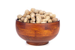 Bowl of peanuts Royalty Free Stock Photo