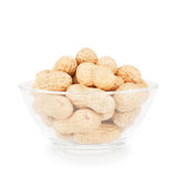 Bowl With Peanuts Stock Photo