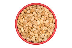 Bowl of peanuts Stock Photos