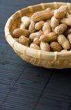 Bowl of peanuts, close-up Royalty Free Stock Image