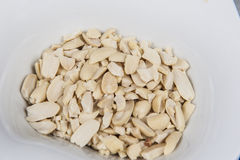 Bowl of peanuts snack food Royalty Free Stock Images