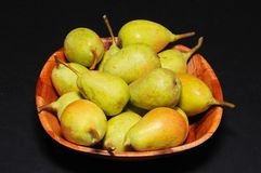 Bowl of pears. Stock Photography
