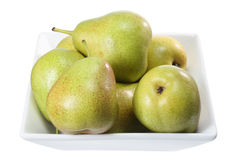Bowl of Pears Royalty Free Stock Images